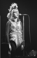 "Peter Gabriel as ""Britannia"", or ""The Moonlit Knight"" 1974 (source)"