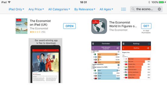 Newsstand - AppStore