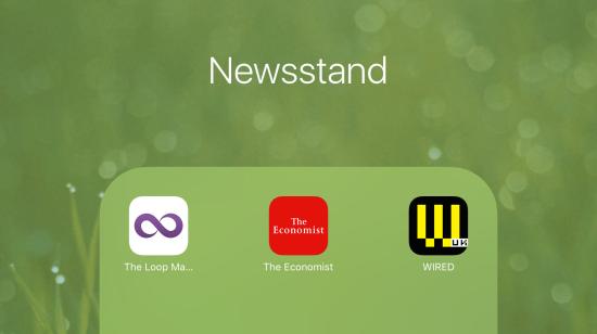 Newsstand - app group