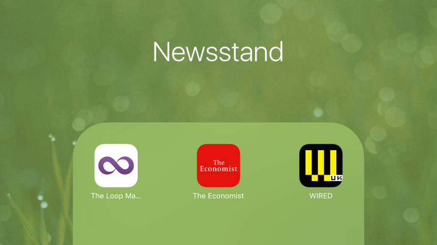Newsstand - app group